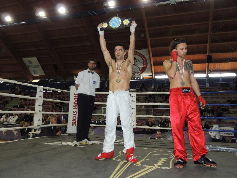 Giuseppe Di Cuia vince ai Campionati Italiani di kickboxing