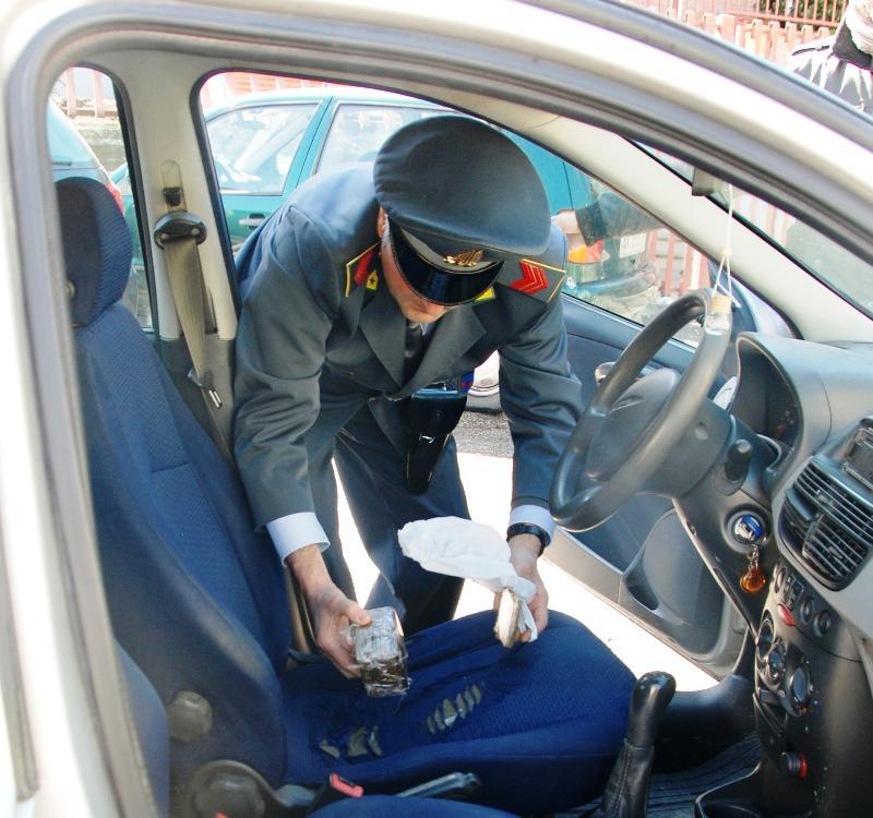 Hashish sequestrato dalla Guardia di Finanza di Matera - 26 marzo 2014