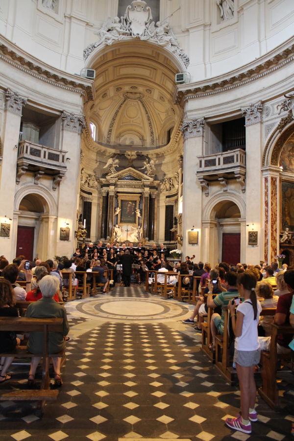 Il concerto della Polifonica Rosa Ponselle a Roma
