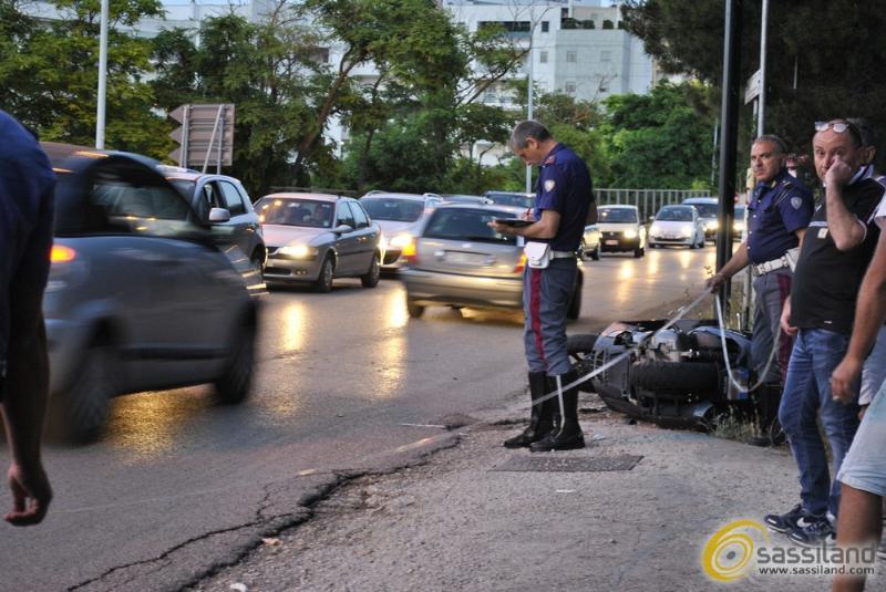 Incidente in via La Martella - 23 giugno 2014 (foto SassiLand)