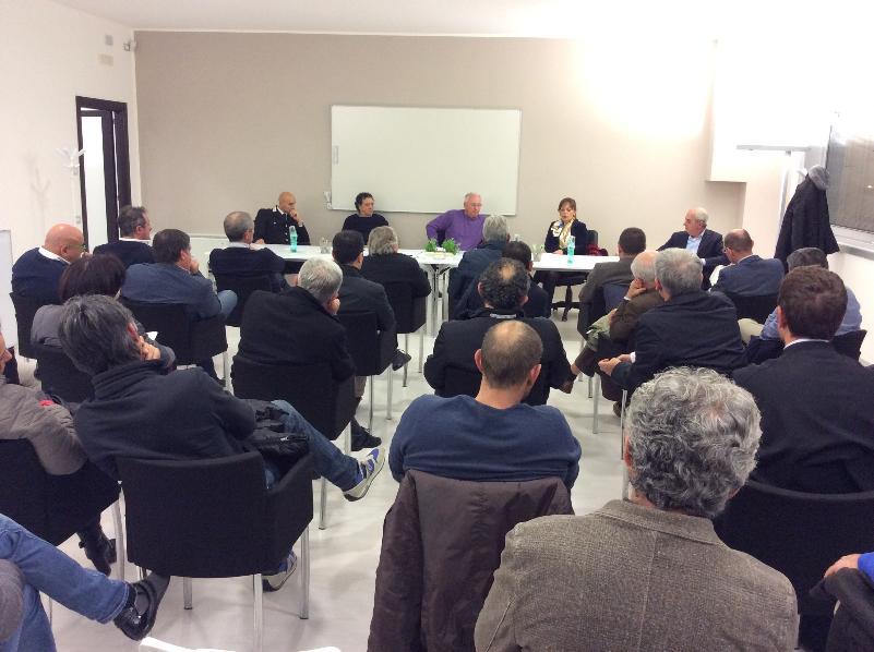 Incontro tra impreditori zona industriale La Martella e Consorzio sviluppo Industriale della provincia di Matera