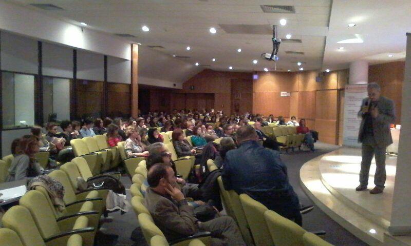 """L´incontro/dibattito tra gli operatori sanitari, quelli della scuola e del volontariato sociale di Viterbo e Matera, sul tema, """"Teatro Inclusione Cultura"""""""