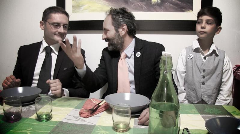 L´ispettore si fermò a mangiare. Sketch video di Antonio Andrisani e Donato Mola