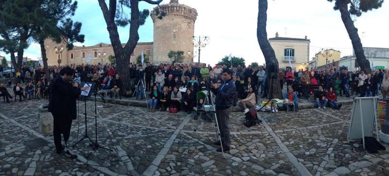 LucaniaTour del Movimento 5 Stelle a Venosa