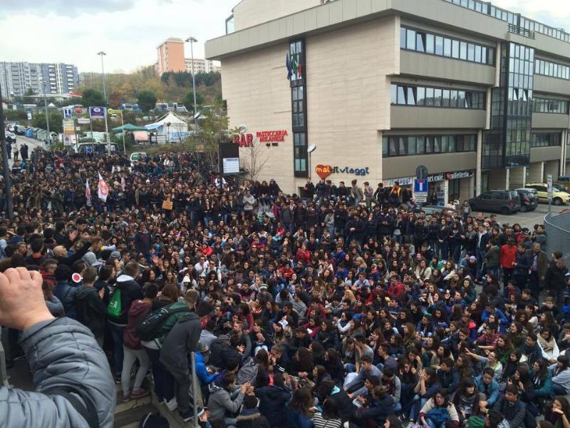 Manifestazione di protesta (11.11.2014) - Foto Sassi di Matera