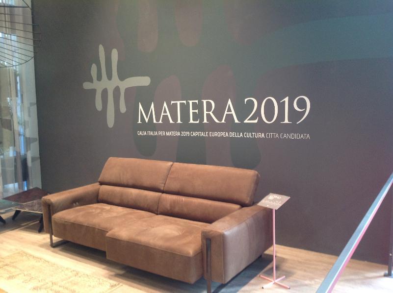 Mobile imbottito: Matera 2019 protagonista a Milano