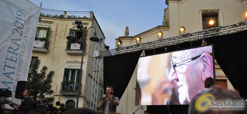 Piazza San Giovanni alla proclamazione di Capitale Europea della Cultura 2019 - 17 ottobre 2014 (foto SassiLand)