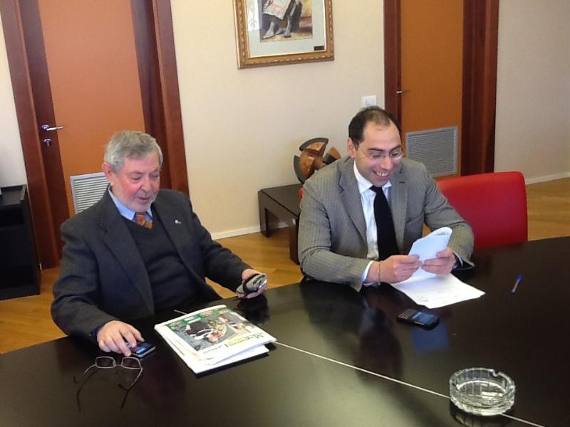 Piero Lacorazza incontra i Maestri del Lavoro