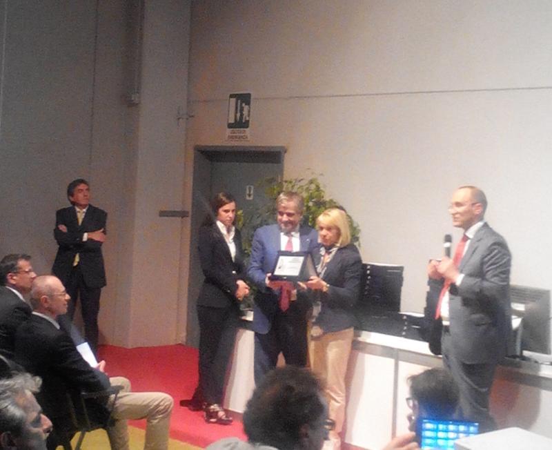 Premiazione del Biscottificio Di Leo vince al Cibus di Parma