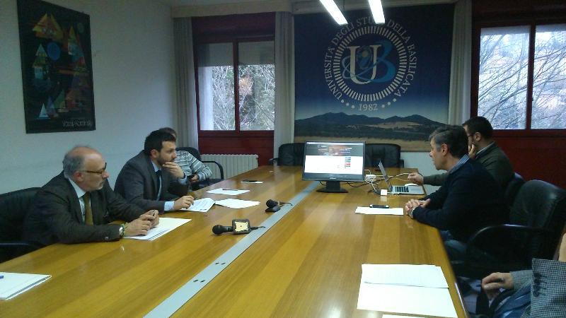Presentazione del nuovo sito internet UniBas