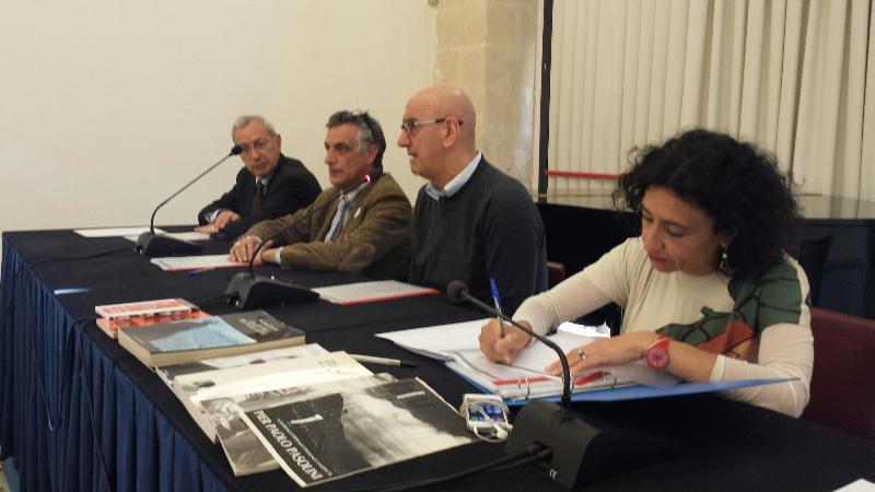 """Presentazione di """"Pasolini a Matera. Il Vangelo secondo Matteo cinquant´anni dopo"""" - 31 marzo 2014"""