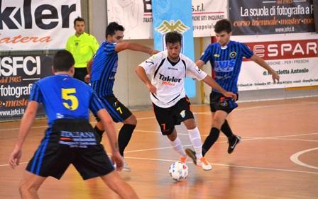 Real Team Matera, Francesco Lorusso in azione