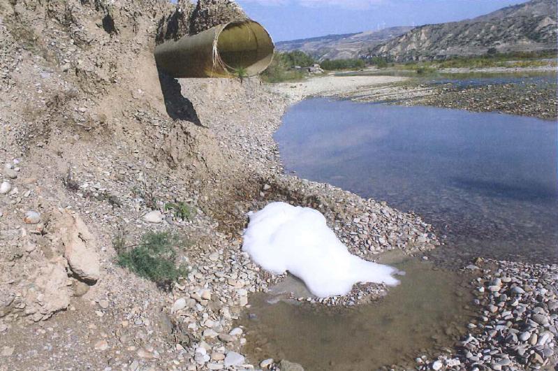 Scarichi illeciti di acque reflue industriali