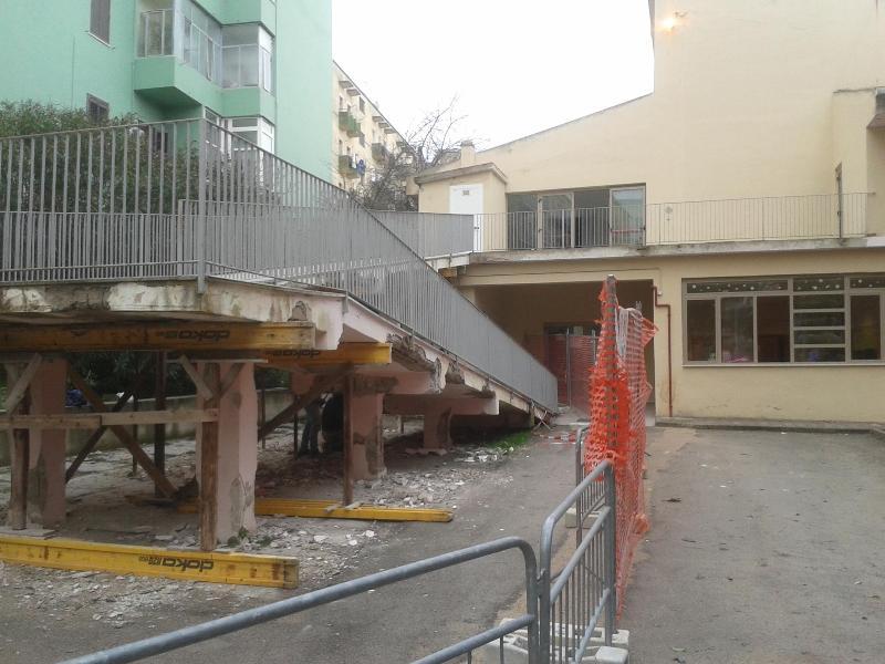 Scuola di via Cappelluti (foto Nicola Trombetta)