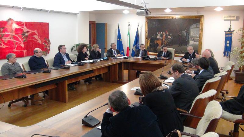 Tavoli operativi nell´ambito del Protocollo Istituzionale tra Regione Basilicata e Provincia di Gorj