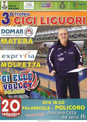 """Trofeo """"Gigi Liguori"""" - Exprivia Neldiritto Molfetta vs Pallavolo Matera"""