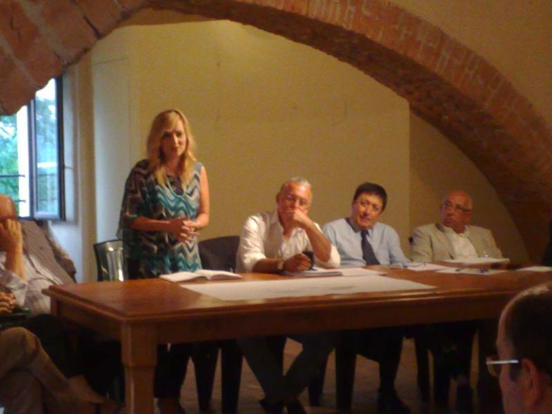 Un incontro del comitato pro-fusione