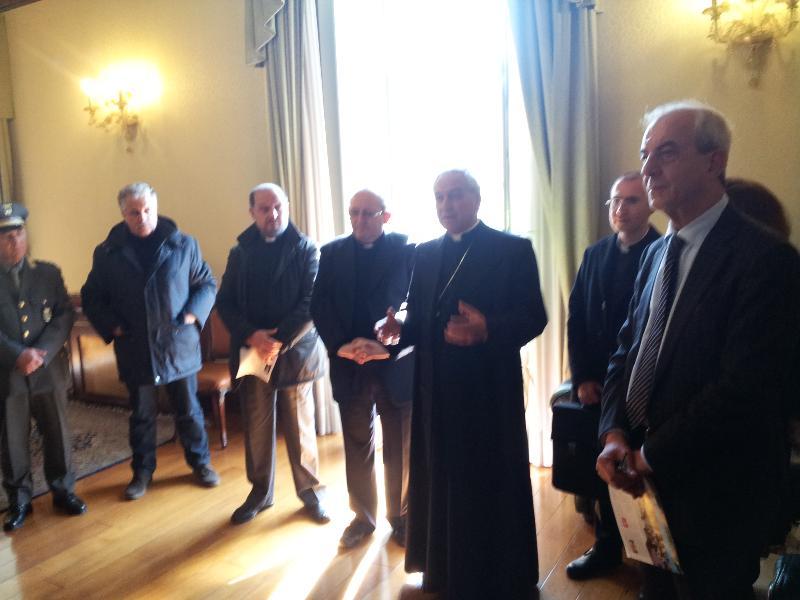 Visita Pastorale in Provincia di Matera