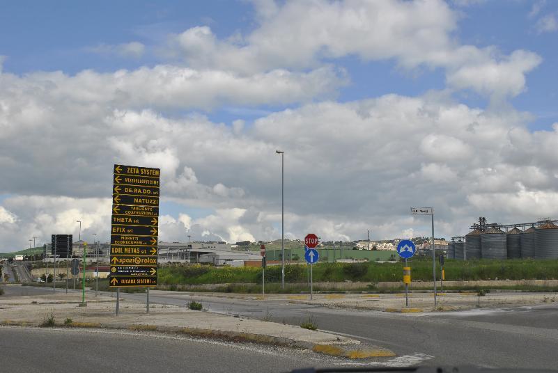 Zona industriale La Martella - Matera (foto SassiLand)
