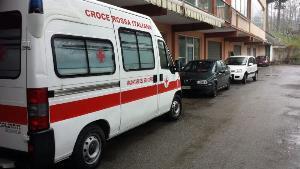 Ambulanza della Croce Rossa Italiana - Matera