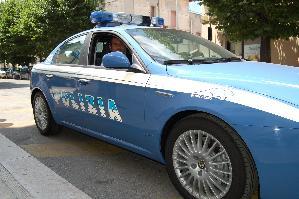 Autovettura della Polizia - Matera