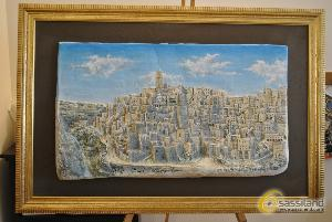 Bassorilievo realizzato da Mario Daddiego, donato Bassorilievo realizzato da Mario Daddiego, donato alla Questura di Matera (foto SassiLand)Comune di Matera
