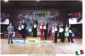 Campionato Italiano Assoluto delle 10 Danze UNDER21 2014 - Matera