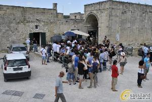 Casting nei Sassi di Matera - 8 agosto 2014 (foto SassiLand)