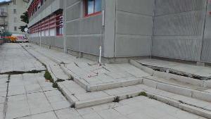 Centro sociale di Stigliano in dissesto