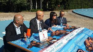 Conferenza stampa di presentazione del nuovo Campo Scuola di Matera - 26 settembre 2014