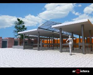 """Ecco come sar� la """"nuova"""" piazza del mercato ortofrutticolo di Piccianello - Matera"""