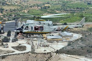 Elicottero Guardia fi Finanza