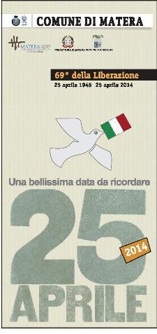 Festa della Liberazione a Matera - 25 aprile 2014 - Matera