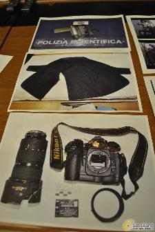 Gli oggetti distrutti dai tifosi (foto SassiLand)