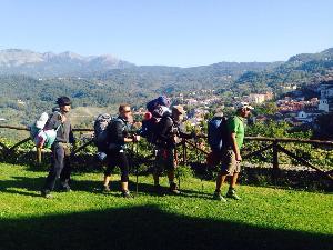 Il gruppo di Lauria in cammino per Matera 2019 - Matera
