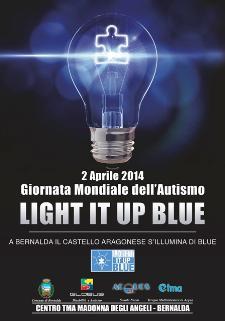 LIGHT IT UP BLUE - Matera
