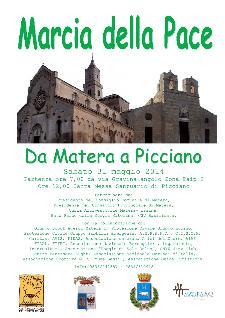 Marcia della pace da Matera a Picciano - Matera