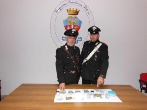 Marijuana rinvenuta dai Carabinieri - 14 dicembre 2014 - Matera
