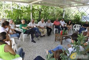 Michele Ottati, assessore all´Agricoltura Regione Basilicata fa visita a Timmari per ascoltare le istanze dei residenti