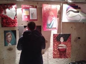 Mostra contro la violenza sulle donne realizzata dagli studenti del Liceo Artistico di Matera