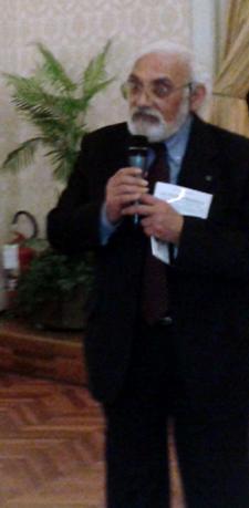 Pietro Pisani, presidente dell�Associazione Lucani a Trieste - Matera