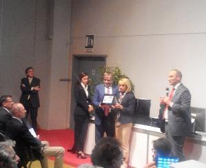 Premiazione del Biscottificio Di Leo vince al Cibus di Parma - Matera