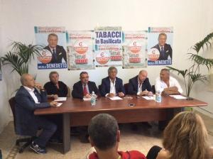 Presentazione della festa nazionale del CD a Matera - Matera