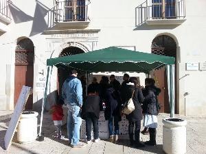 Presidio permanente in Piazza Umberto I a Pisticci - Matera