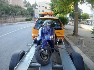 Scooter contro auto. Incidente in via Lucana - 18 luglio 2014