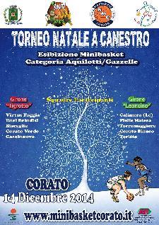 Torneo Natale a Canestro a Corato - Matera