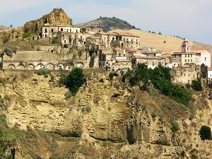 Tursi, il quartiere saraceno della Rabatana (foto Nicola Crispino)
