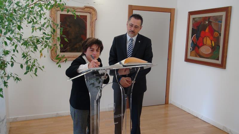 Antonella Bellomo e Marcello Pittella