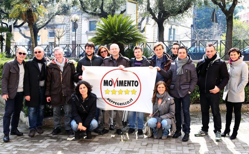 Antonio Materdomini e la lista materana del movimento 5 Stelle