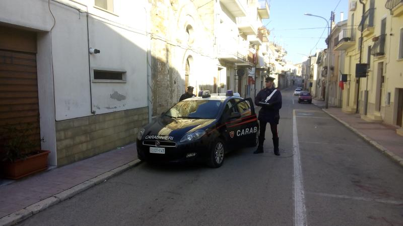 Carabinieri a Grassano